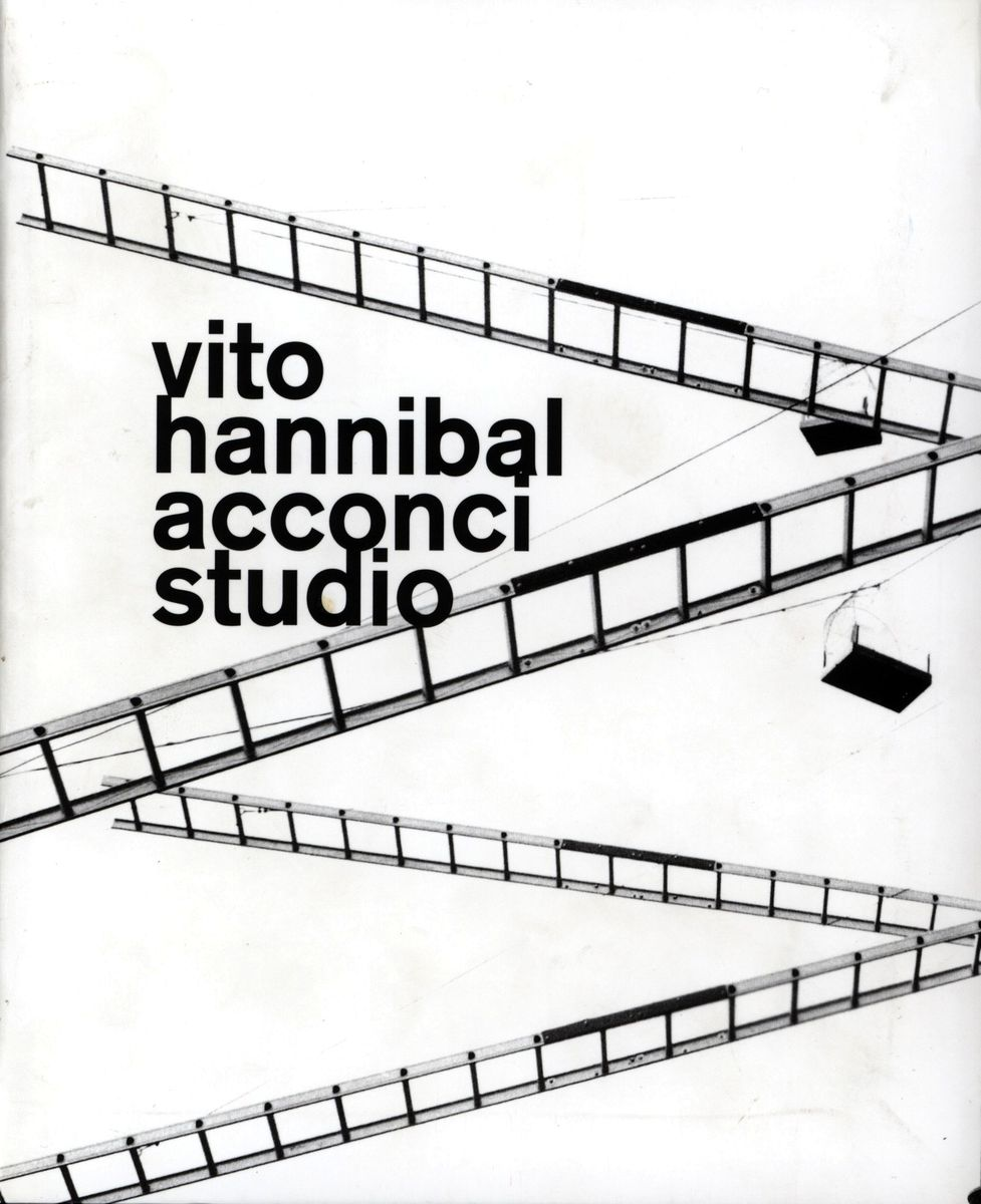 Vito Hannibal Acconci Studio по 500.00 руб от изд. MACBA