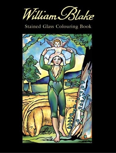 William Blake Stained Glass Colouring Book по 262.00 руб от изд. Dover