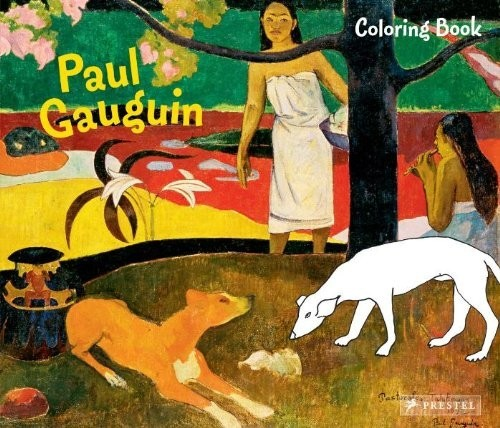 Coloring Book Paul Gauguin по 369.00 руб от изд. Prestel
