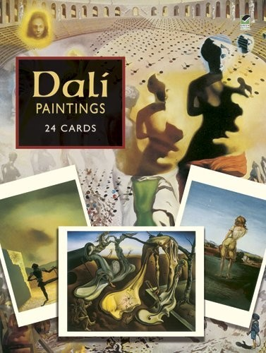 Dali Postcards 24 Paintings from the Salvador Dali Museum по 298.00 руб от изд. Dover