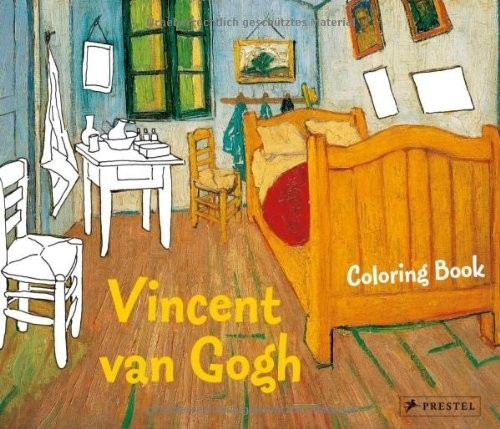 Coloring Book Vincent van Gogh по 369.00 руб от изд. Prestel