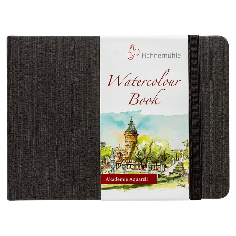 Скетчбук для акварели WATERCOLOUR BOOK 200г/кв.м 105х148мм 30л среднее зерно, целлюлоза 100% по 747.00 руб от Hahnemuhle