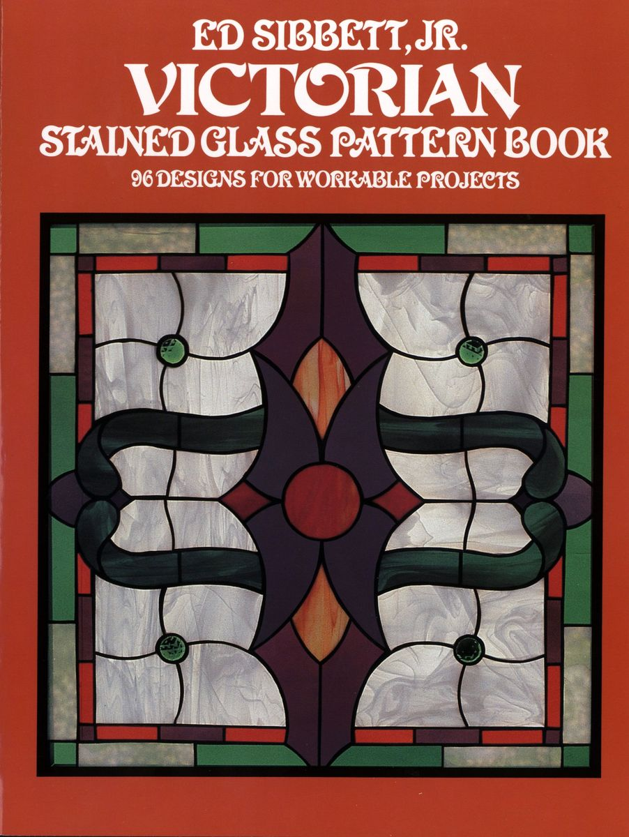 Victorian Stained Glass Pattern Book по 393.00 руб от изд. Dover