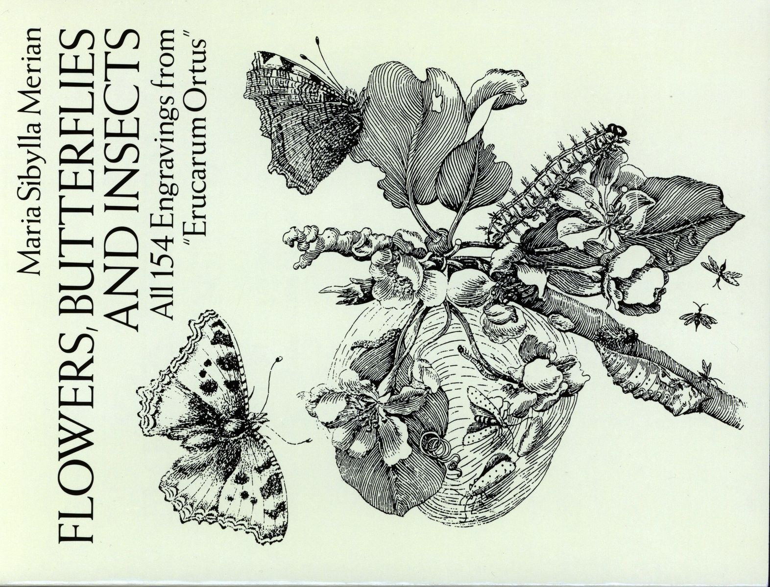 Flowers, Butterflies and Insects: All 154 Engravings from Erucarum Ortus по 680.00 руб от изд. Dover