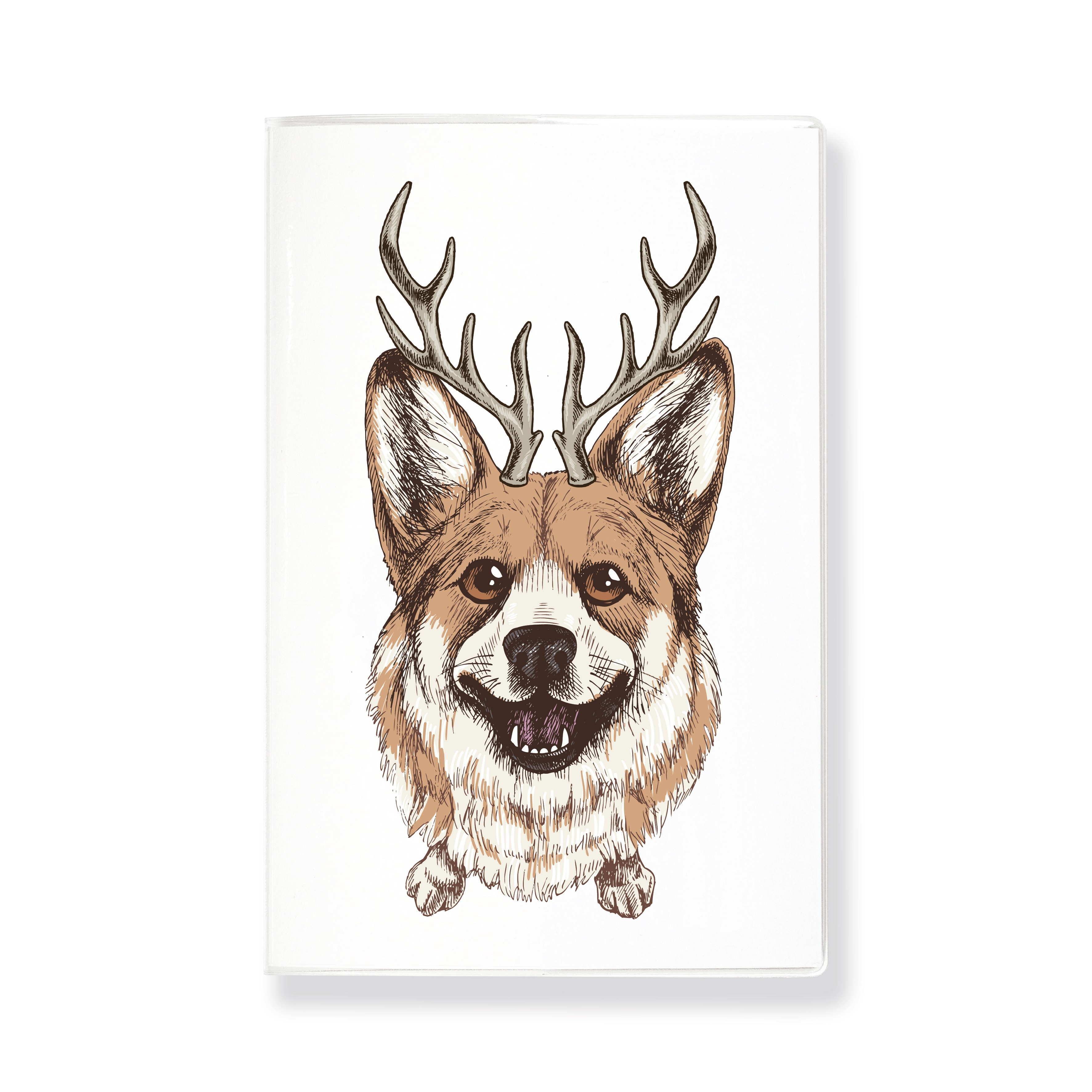 Скетчбук для зарисовок HANDY CORGI DEER 120г/кв.м 140х210мм 30л. по 441.00 руб от Sputnik