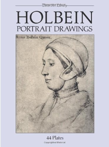Holbein Portrait Drawings по 298.00 руб от изд. Dover