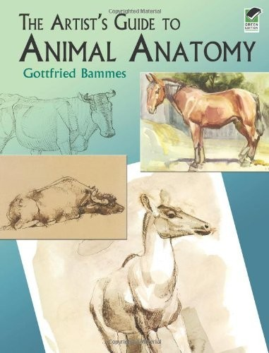 The Artist's Guide to Animal Anatomy по 873.00 руб от изд. Dover