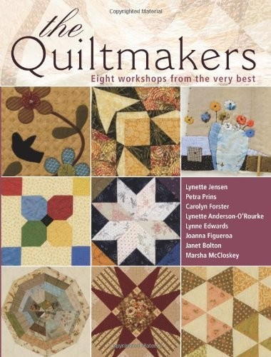 The Quiltmakers: 10 Workshops from the Very Best по 1 178.00 руб от изд. David&Charles