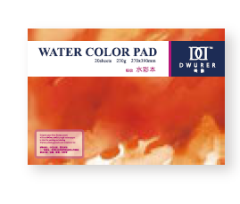 Альбом для акварели DWURER WATERCOLOR PAD 230г/кв.м 270х390мм 20л склейка по 699.00 руб от Potentate