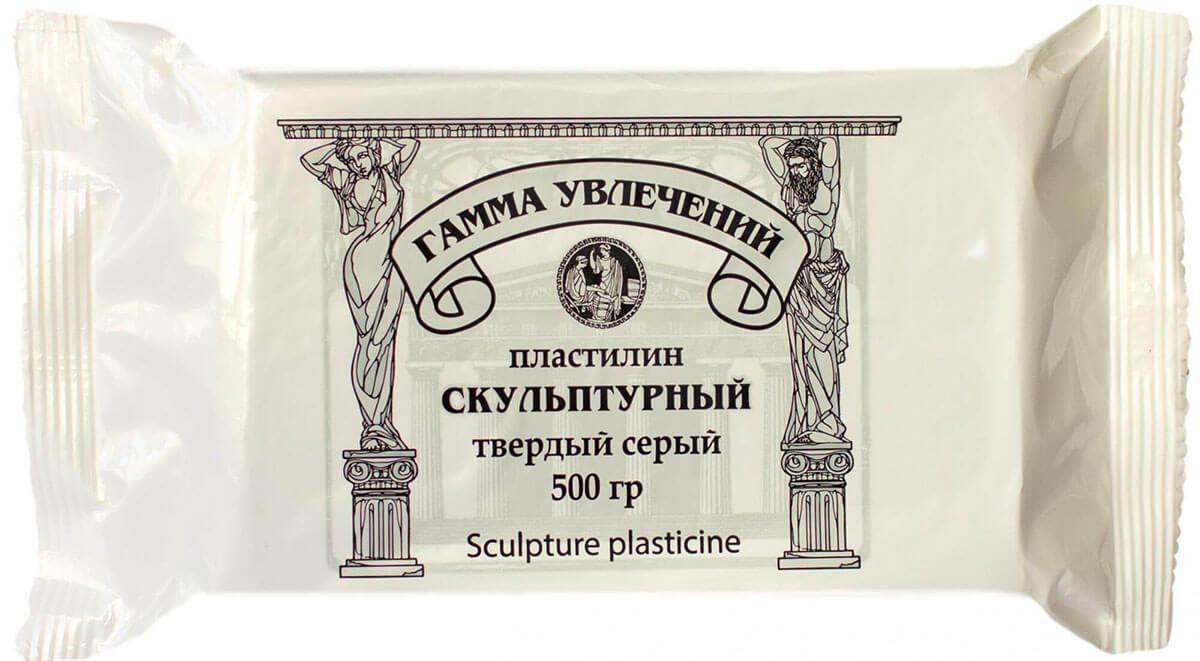 <b>Пластилин</b> скульптурный твердый <b>ГАММА УВЛЕЧЕНИЙ</b> 500г ...