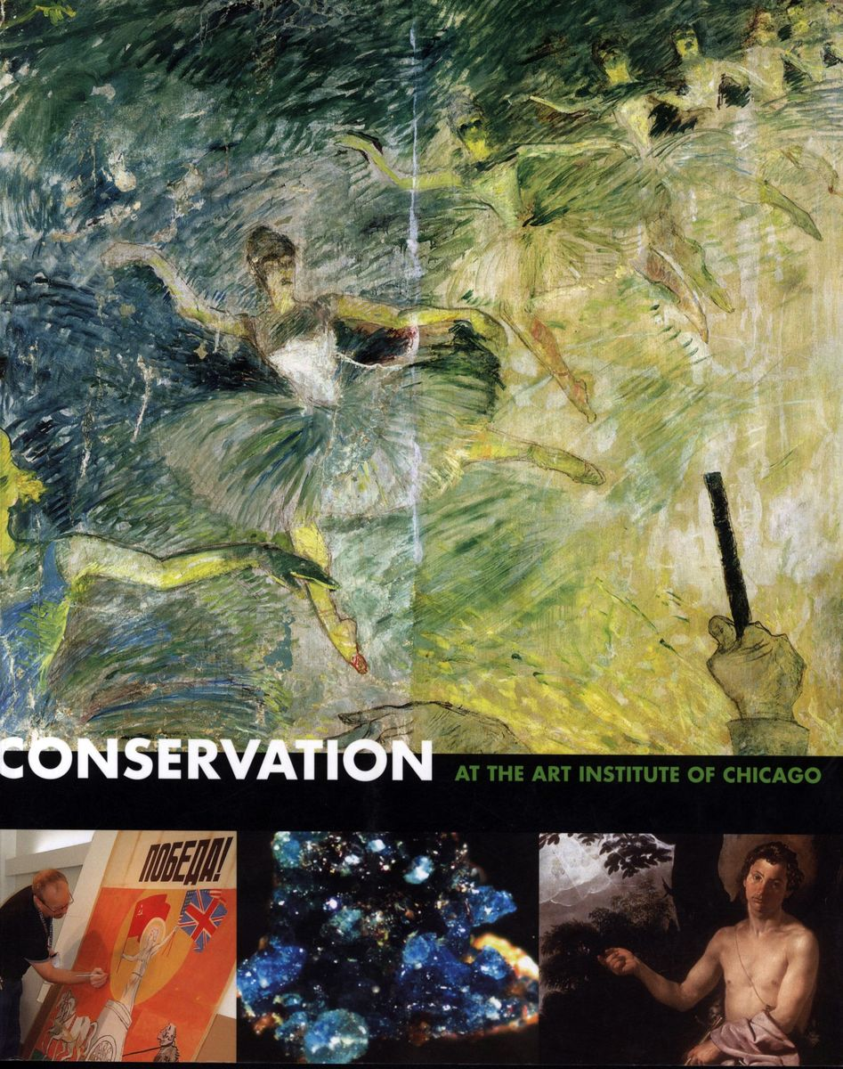 Conservation at the Art Institute of Chicago по 500.00 руб от изд. Yale