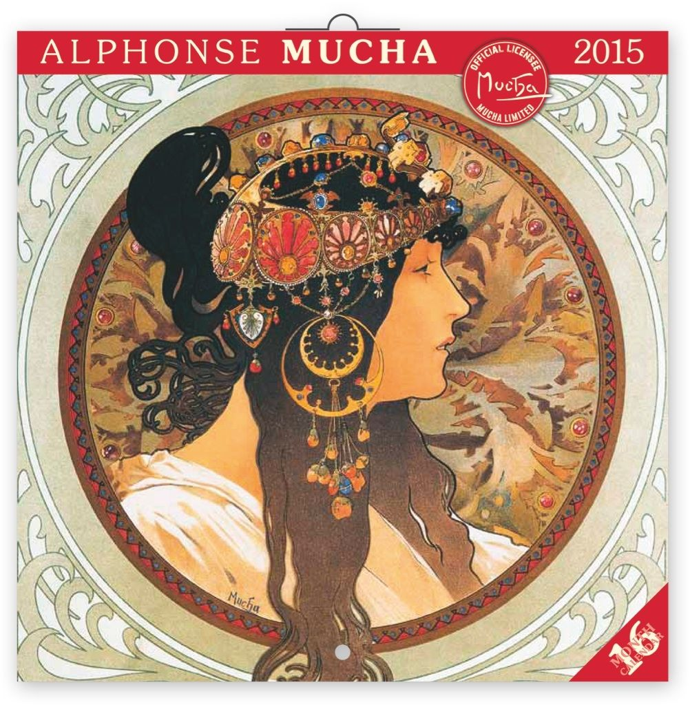 "Календарь ""Alphonse Mucha"" (30x30) 2015 по 250.00 руб от Presco Publishing"