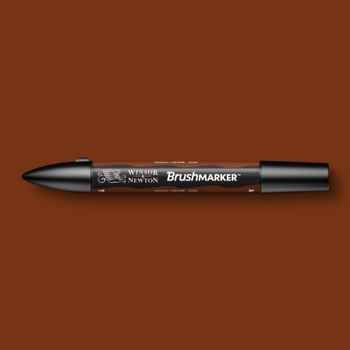 Маркер W&N BRUSHMARKER на спирт.основе, два пера, цв.O225 хна по 285.00 руб от Winsor&Newton