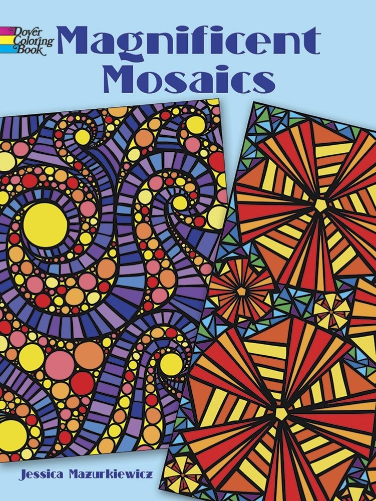 Magnificent Mosaics Coloring Book по 179.00 руб от изд. Dover