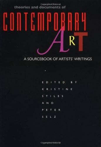 Theories and Documents of Contemporary Art. A Sourcebook of Artists' Writings по 2 464.00 руб от изд. MIT Press