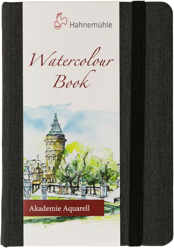 Скетчбук для акварели WATERCOLOR BOOK 200г/кв.м 105х148мм 30л среднее зерно, целлюлоза 100% по 760.00 руб от Hahnemuhle