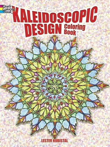 Kaleidoscopic Design Coloring Book по 226.00 руб от изд. Dover