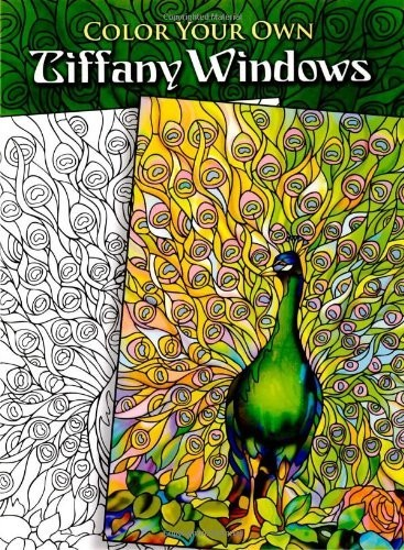 Color Your Own Tiffany Windows по 179.00 руб от изд. Dover