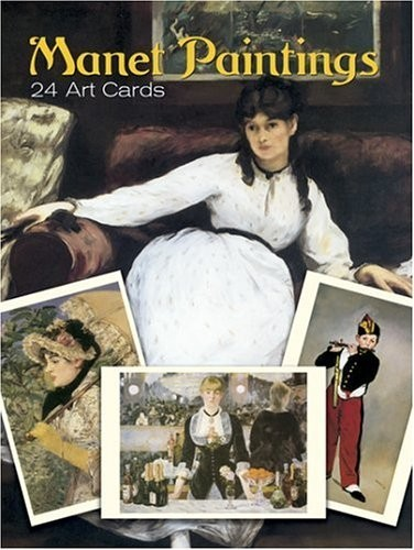Manet Paintings - 24 Art Cards по 250.00 руб от изд. Dover