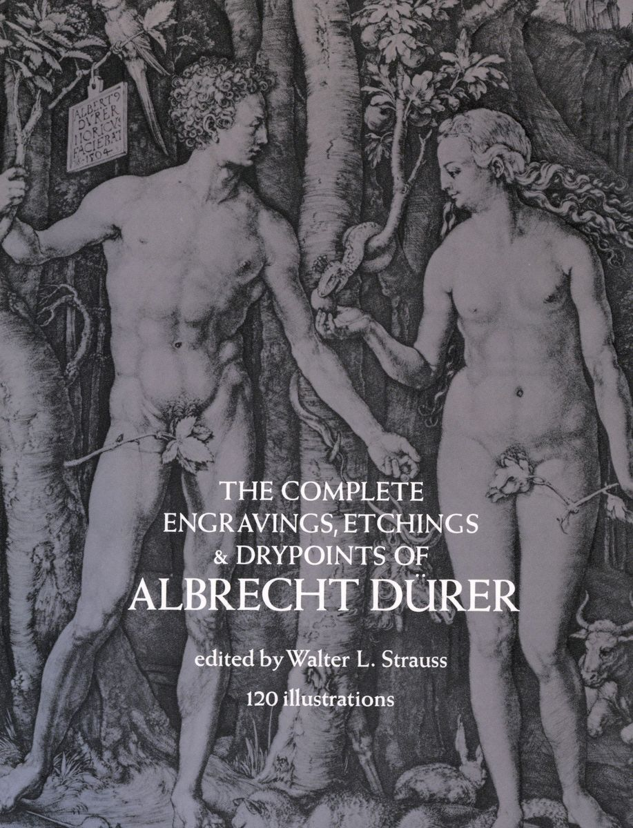 The Complete Engravings, Etchings and Drypoints of Albrecht Durer по 907.00 руб от изд. Dover