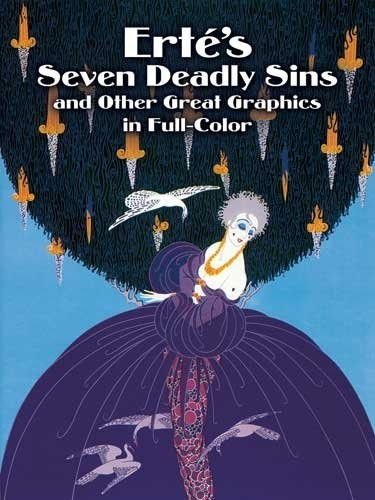 Ert?'s Seven Deadly Sins and Other Great Graphics in Full Color по 631.00 руб от изд. Dover