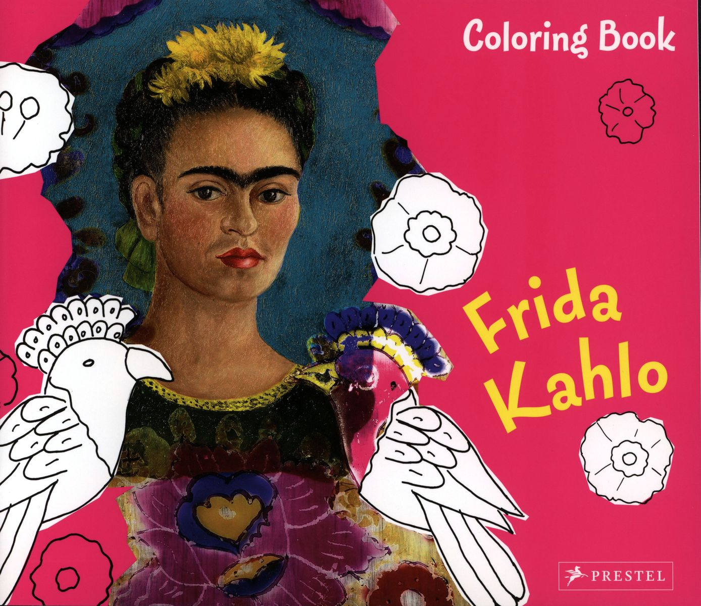 Coloring Book Frida Kahlo по 369.00 руб от изд. Prestel