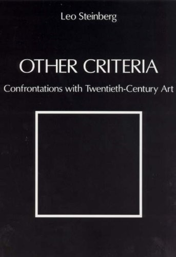 Other Criteria. Confrontations with Twentieth-Century Art по 999.00 руб от изд. Chicago University Press