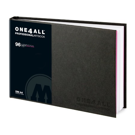 Скетчбук для маркера ONE4ALL ARTBOOK 150г/кв.м (А5) 148х210мм 96л. по 1 690.00 руб от Molotow