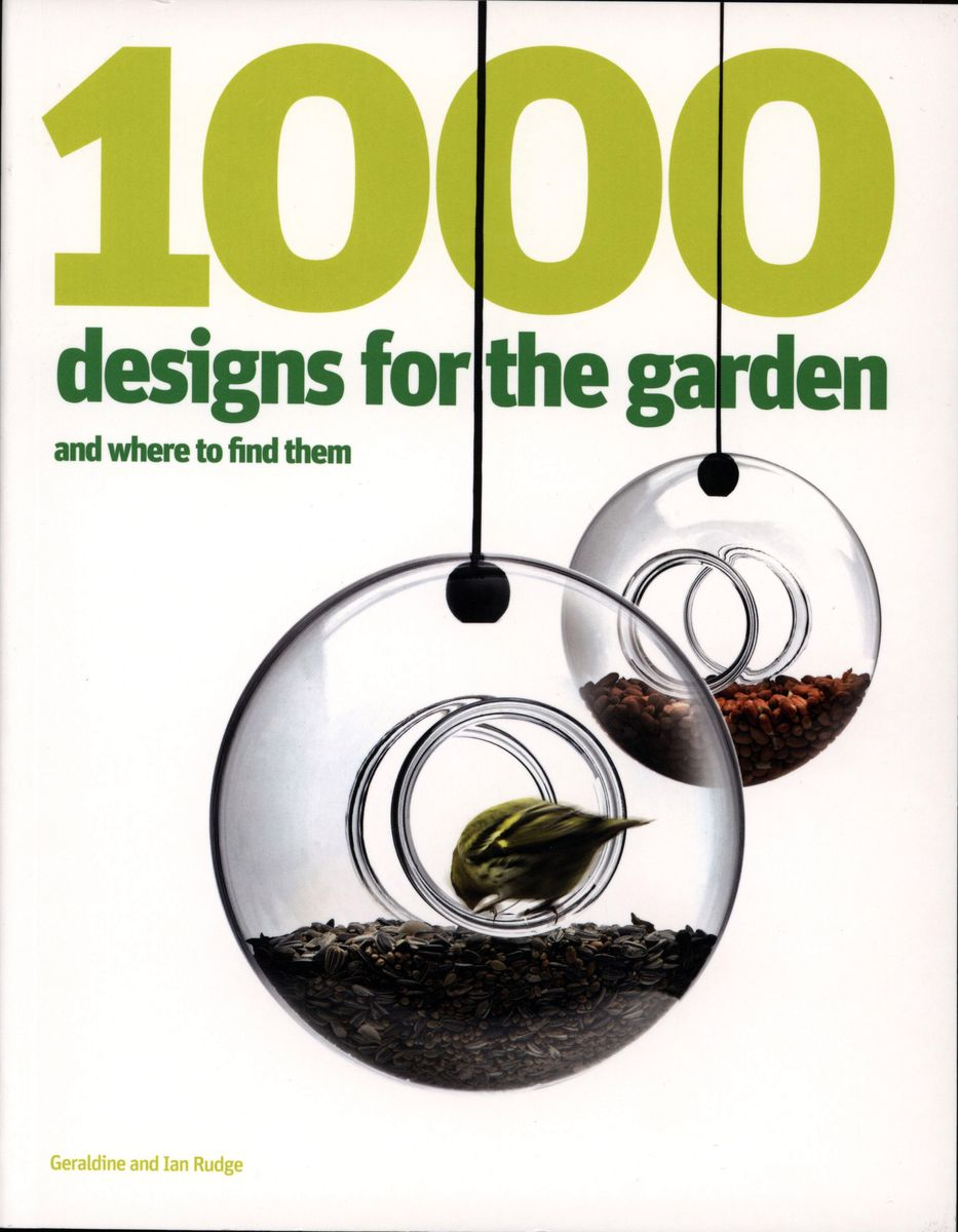 1000 Designs for the Garden and Where to Find Them по 1 357.00 руб от изд. Laurence King