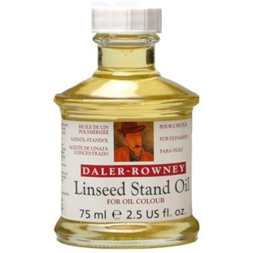 Масло льняное LINSEED STAND OIL, флакон 75мл по 256.00 руб от Daler-rowney