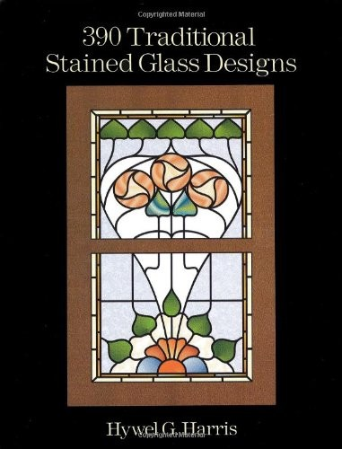 390 Traditional Stained Glass Designs по 393.00 руб от изд. Dover