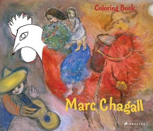 Coloring Book Marc Chagall по 369.00 руб от изд. Prestel