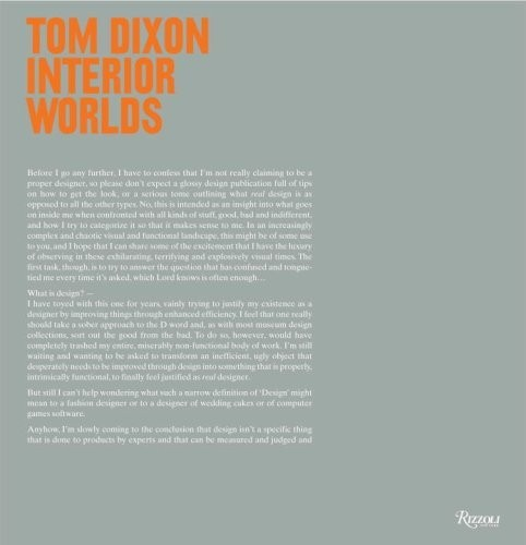 Tom Dixon: Interior Worlds по 1 333.00 руб от изд. Rizzoli US