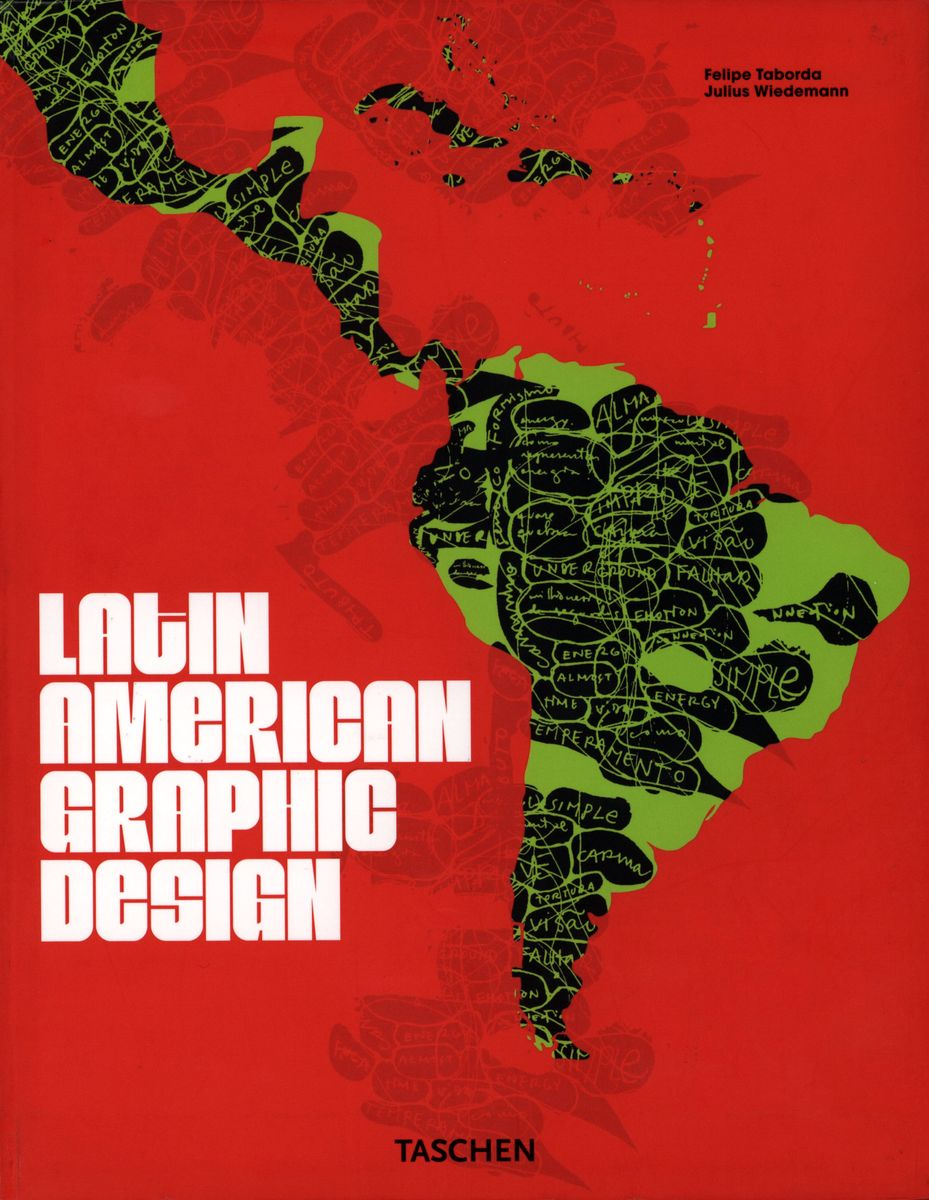 Latin American Graphic Design по 999.00 руб от изд. Taschen