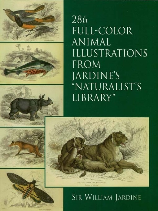 286 Full-Color Animal Illustrations: From Jardine's Naturalist's Library по 0.00 руб от изд. Dover