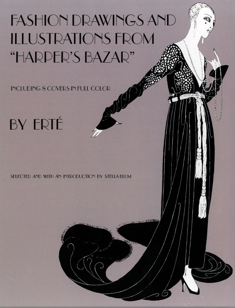 Fashion Drawings and Illustrations from Harper's Bazar по 714.00 руб от изд. Dover