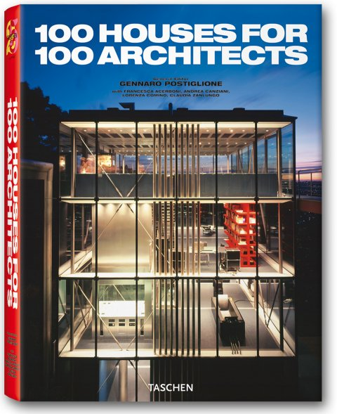 100 Houses For 100 Architects по 0.00 руб от изд. Taschen