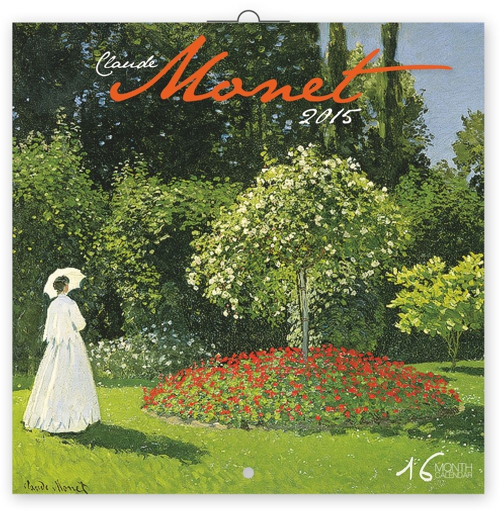 "Календарь ""Claude Monet"" (30x30) 2015 по 250.00 руб от Presco Publishing"