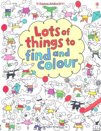 сер./Lots of Things to find and colour авт. англ. по 0.00 руб от изд. Usborne