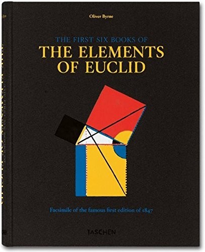 Byrne. Six Books of Euclid по 2 992.00 руб от изд. Taschen