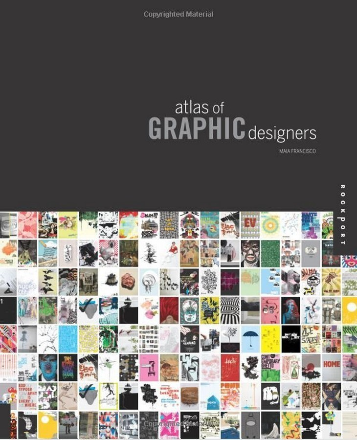 Atlas of Graphic Designers по 1 944.00 руб от изд. Rockport