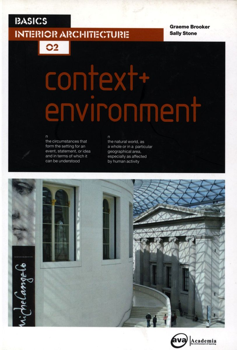Basics Interior Architecture 02: Context + Environment по 1 041.00 руб от изд. AVA Publishing