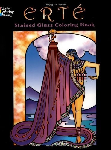 Erte Stained Glass Coloring Book по 262.00 руб от изд. Dover