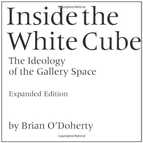 Inside the White Cube. The Ideology of the Gallery Space по 1 299.00 руб от изд. MIT Press