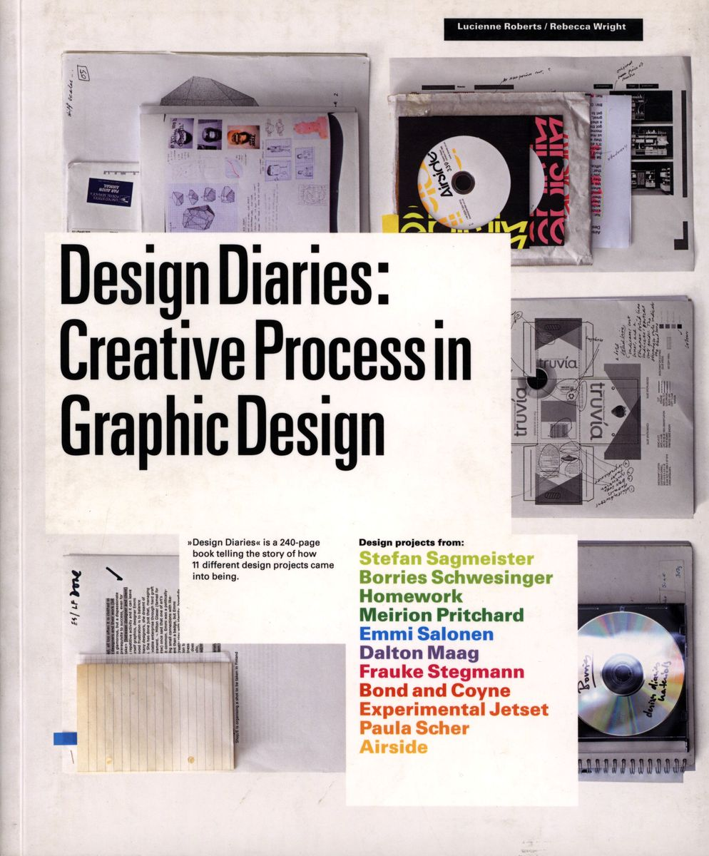 Design Diaries. Creative Process in Graphic Design по 1 464.00 руб от изд. Laurence King