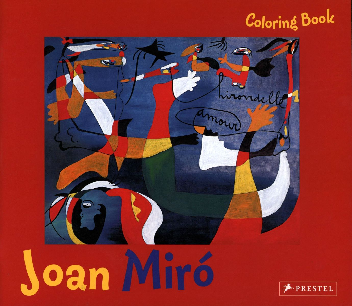 Coloring Book Joan Mir? по 369.00 руб от изд. Prestel