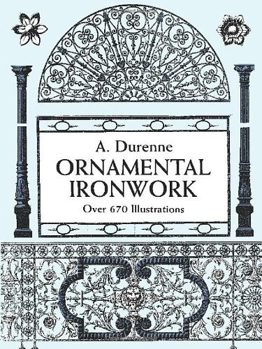 Ornamental Ironwork: Over 670 Illustrations по 655.00 руб от изд. Dover