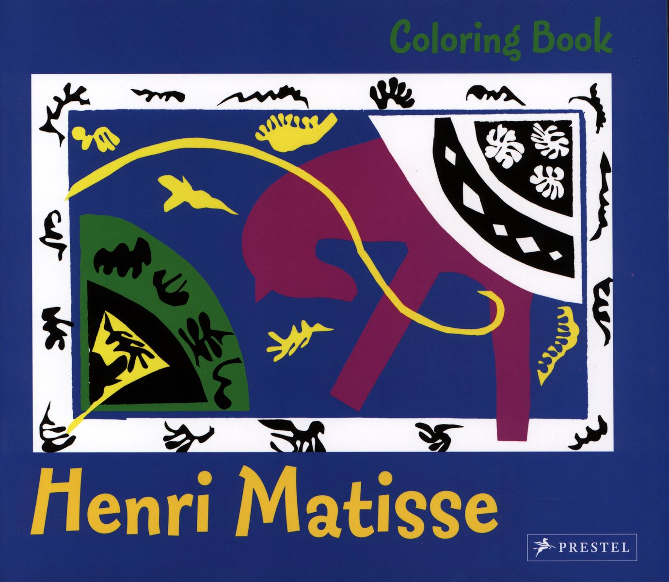 Coloring Book Matisse по 369.00 руб от изд. Prestel