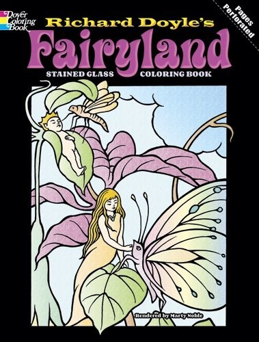 Fairyland Stained Glass Coloring Book по 262.00 руб от изд. Dover