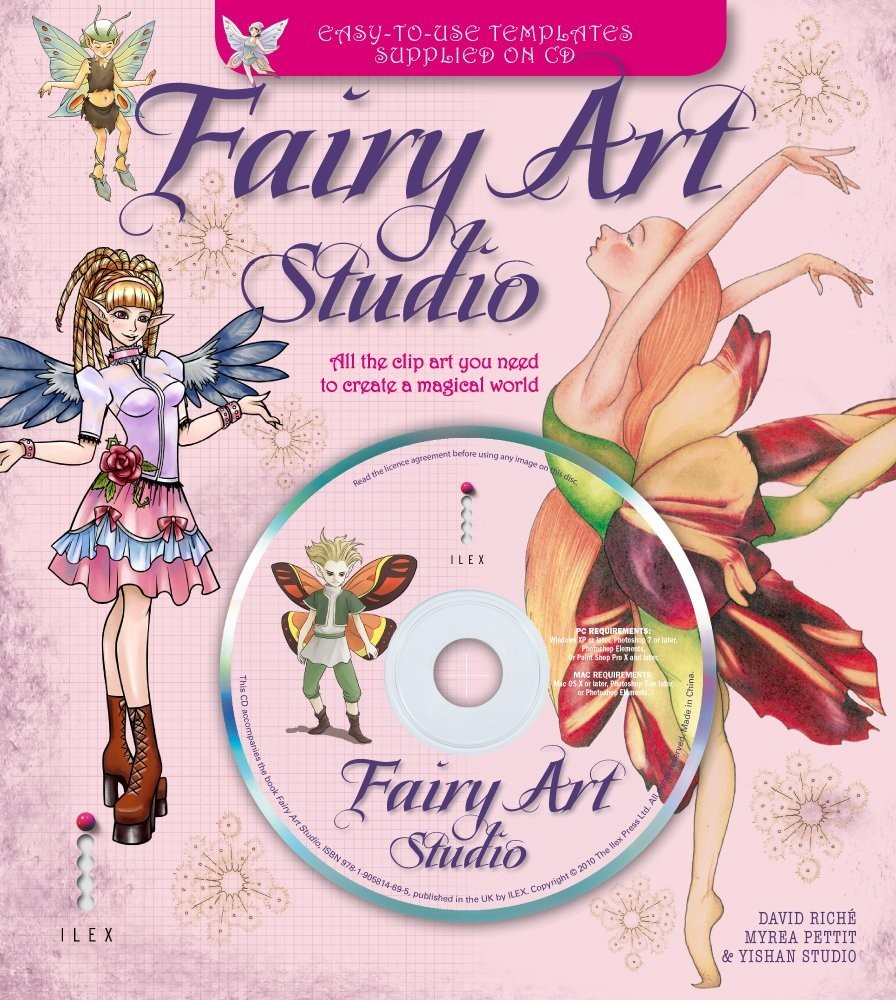 Fairy Art Studio. All the Clip Art You Need to Create a Magical World по 599.00 руб от изд. ILEX